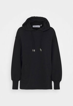 DOUBLE DRAWCORD SIDE SPLIT - Sweatshirt - black
