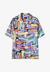 PULL&BEAR - Button-down blouse - multi-coloured - 4