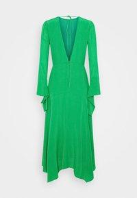 Victoria Beckham - HANKERCHIEF SLEEVE MIDI - Cocktailklänning - emerald green - 7