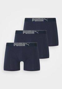 Puma - PREMIUM 3 PACK - Culotte - navy - 0