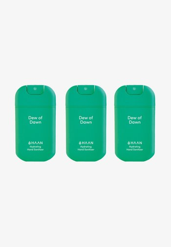 HAAN 3 PACK HAND SANITIZER - Bath and body set - dew of dawn