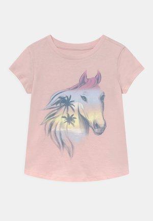 GIRLS - Print T-shirt - misty rose