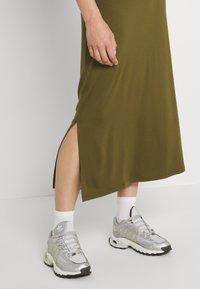 Even&Odd - Maxi skirt - khaki - 3