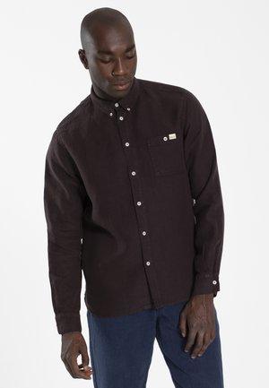 PETE - Overhemd - dark choc