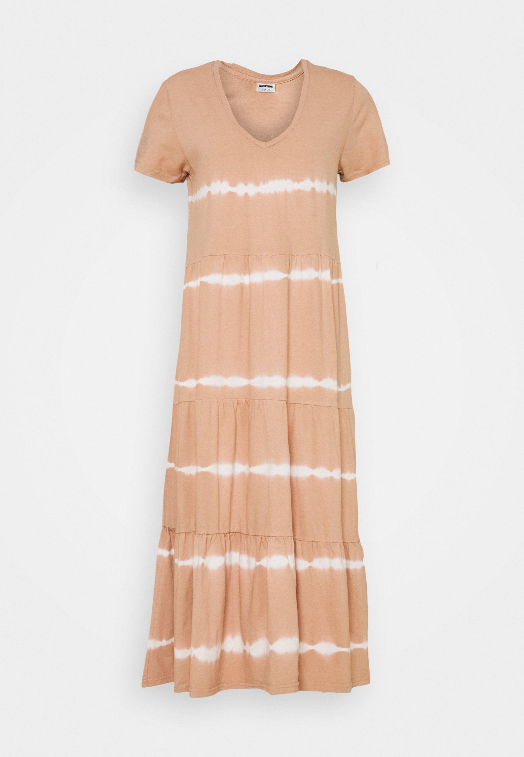 Women NMBUSTER TIE DYE DRESS - Jersey dress
