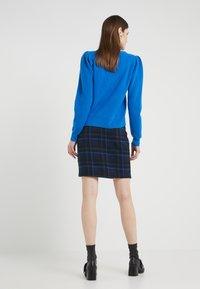 2nd Day - CAST MAXI - Mini skirt - crown blue - 2