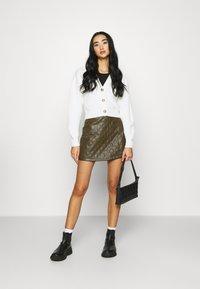 BDG Urban Outfitters - KAI CARDIGAN - Kardigan - cream - 1