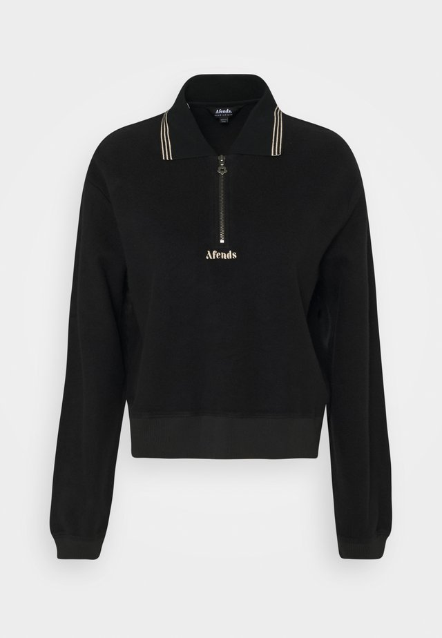 AMELIA - Fleece jumper - black