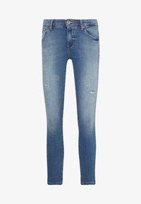 ONLY - ONLCARMEN JOGG - Jeans Skinny Fit - light blue denim - 3