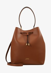 Lauren Ralph Lauren - SUPER SMOOTH DEBBY - Handbag - tan/monarc - 5
