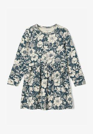 Korte jurk - dark slate
