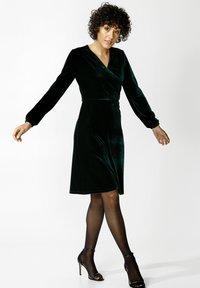 Indiska - OLIVETTA - Cocktail dress / Party dress - dkgreen - 1