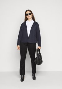 MY TRUE ME TOM TAILOR - WITH PANEL POCKETS - Blazer - dark blue - 1