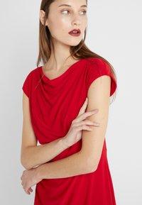 Lauren Ralph Lauren - MID WEIGHT DRESS - Shift dress - parlor red - 6