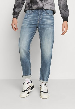 5650 3D RELAXED TAPERED C - Džíny Relaxed Fit - faded regal blue
