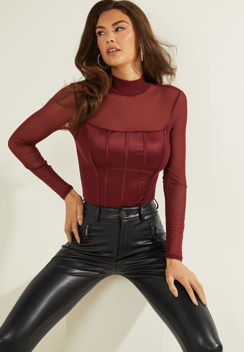 Guess - Blouse - rot