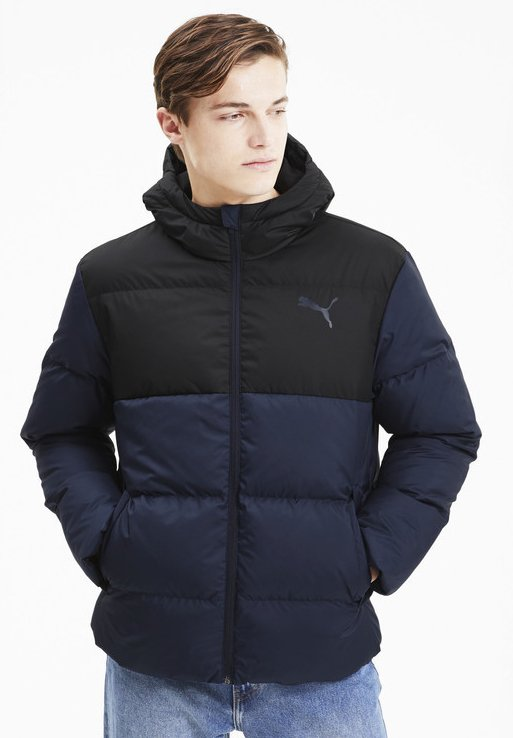 ESS MAND - Down jacket - peacoat