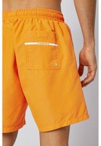 BOSS - DOLPHIN - Swimming shorts - orange - 2
