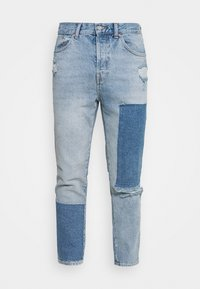 PATCHWORK DAD - Jeans Tapered Fit - blue