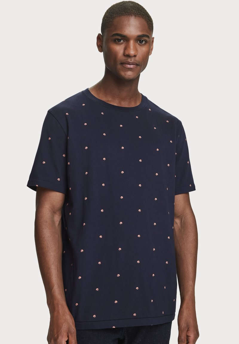 Scotch & Soda - Print T-shirt - combo e