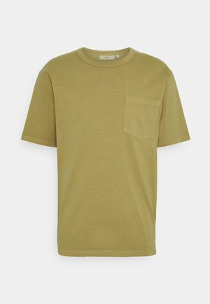 HARIS  - Basic T-shirt - dried tobacco