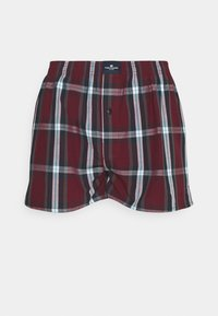 TOM TAILOR - 3 PACK - Boxer shorts - red dark - 9