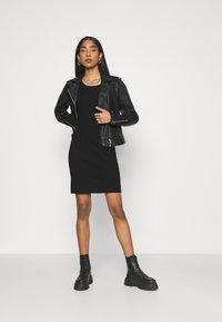 Diesel - D-HEVA - Jersey dress - black - 1