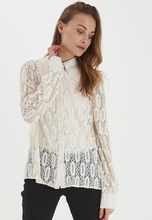 PZDARISSA  - Button-down blouse - buttercream