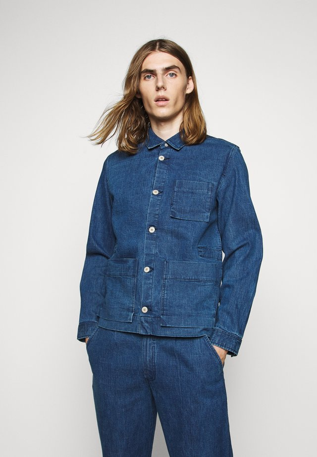PLINTH JACKET - Veste légère - slub denim