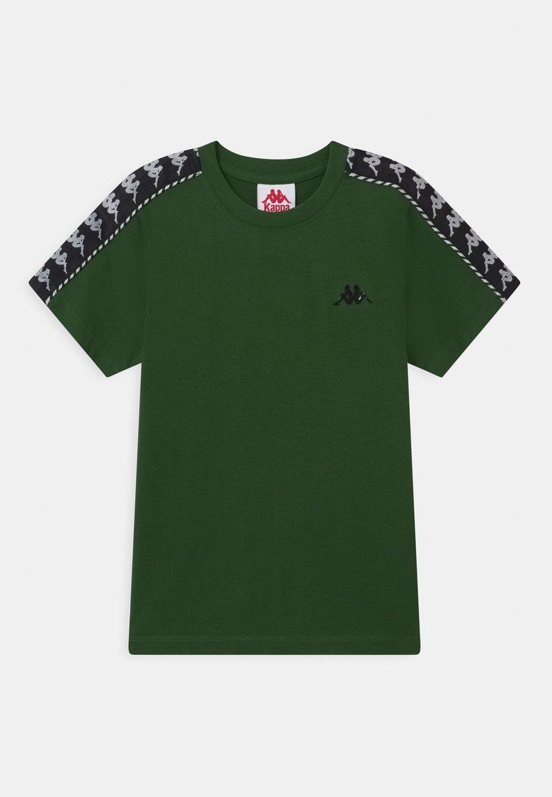 Kappa - ILYAS UNISEX - Print T-shirt - greener pastures