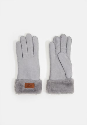 TURN CUFF GLOVE - Fingervantar - light grey