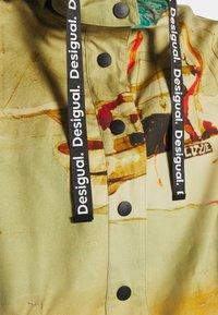 Desigual - VENECIA - Krótki płaszcz - yellow - 6