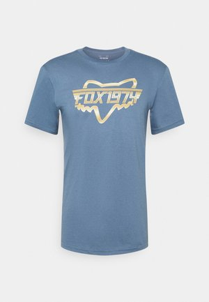 RAZORS EDGE TEE  - T-shirt print - blue