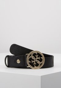 Guess - PEONY CLASSIC ADJUSTABLE BELT - Gürtel - black - 0