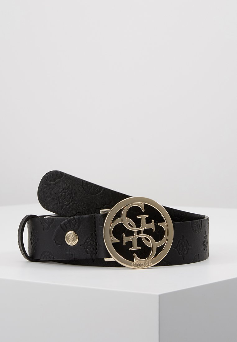 Guess - PEONY CLASSIC ADJUSTABLE BELT - Gürtel - black