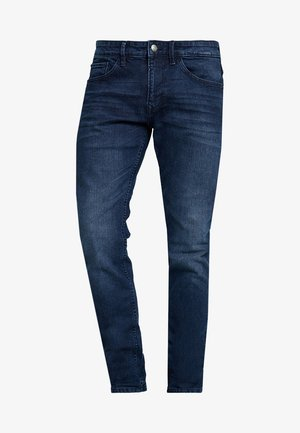 PIERS PRICESTARTER - Vaqueros slim fit - used dark stone/blue denim