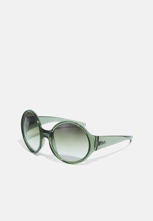Solbriller - transparent green
