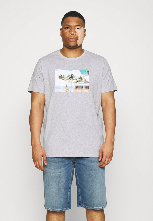 PHOTO TEE - T-shirt print - grey mel