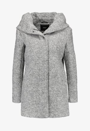 ONLSEDONA COAT - Kort kåpe / frakk - light grey melange