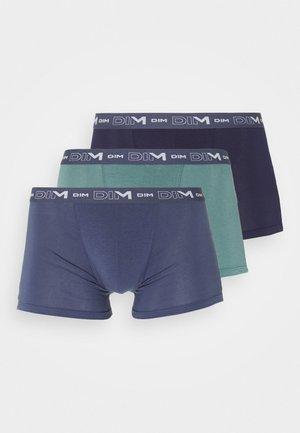 3 PACK - Pants - green/storm blue/denim blue