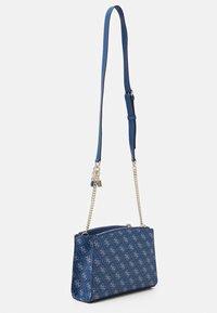 Guess - TYREN STATUS - Across body bag - blue - 1