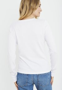 PULZ - SARA - Cardigan - bright white - 2