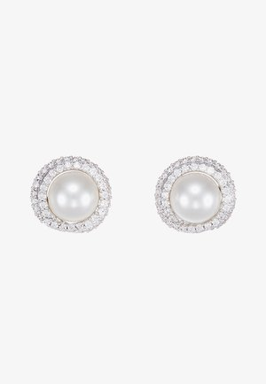 ORIGINALLY STUD - Earrings - white