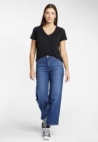 Lee - T-shirt basic - black - 1