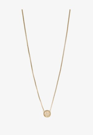 CRYSTAL NECKLACE MEDALLION - Necklace - gold-coloured