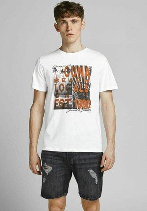 JOROCTO - Print T-shirt - white