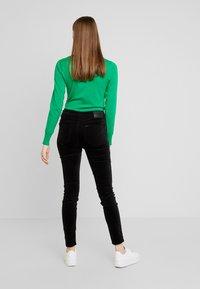 Lee - SCARLETT HIGH - Trousers - black - 2