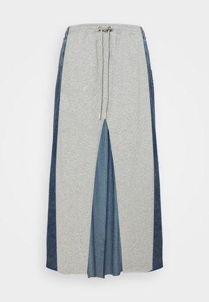 O-LE - Jupe en jean - grey denim