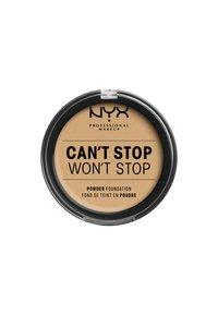 Nyx Professional Makeup - CAN'T STOP WON'T STOP POWDER FOUNDATION - Poudre - CSWSPF08 true beige - 1