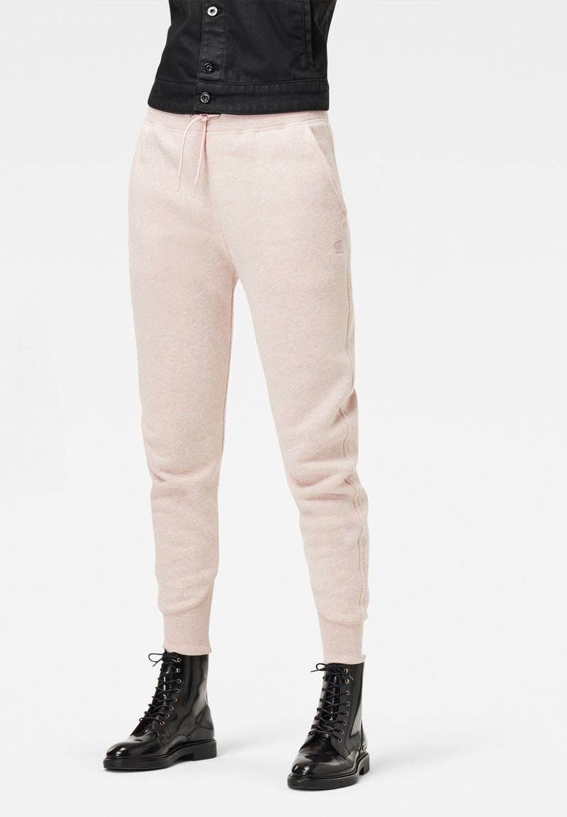 G-Star - PREMIUM CORE 3D TAPERED - Tracksuit bottoms - pyg htr